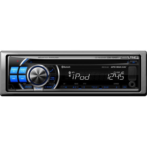 alpine cde 104bti cd receiver ipod and usb controller with rh caraudiocentre co uk Alpine Receivers BT Alpine Receivers BT