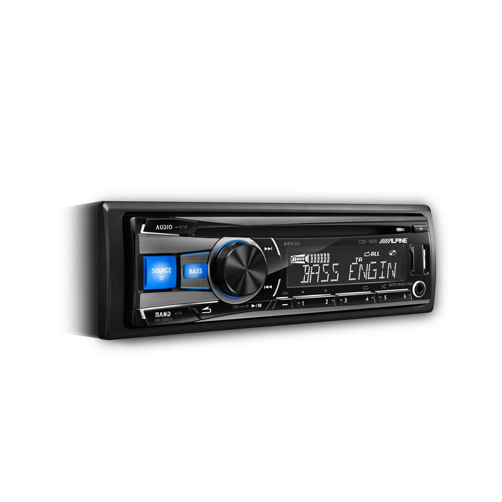 Jvc kd r432 cd usb car stereo system front usb aux input - Jvc Kd Db97bt Cd Mp3 Car Stereo With Front Usb Aux Input And Built Alpine