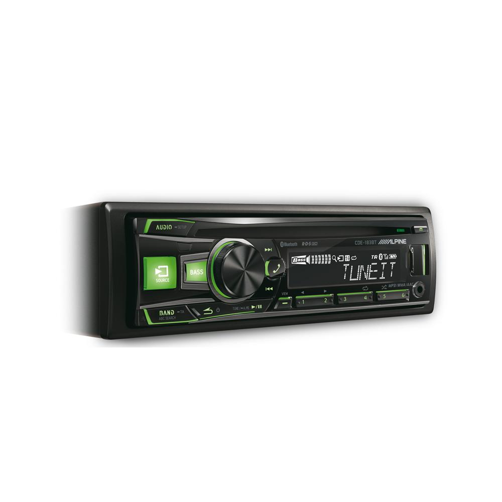 Made for iPod/iPhone Alpine CDE-183BT 2