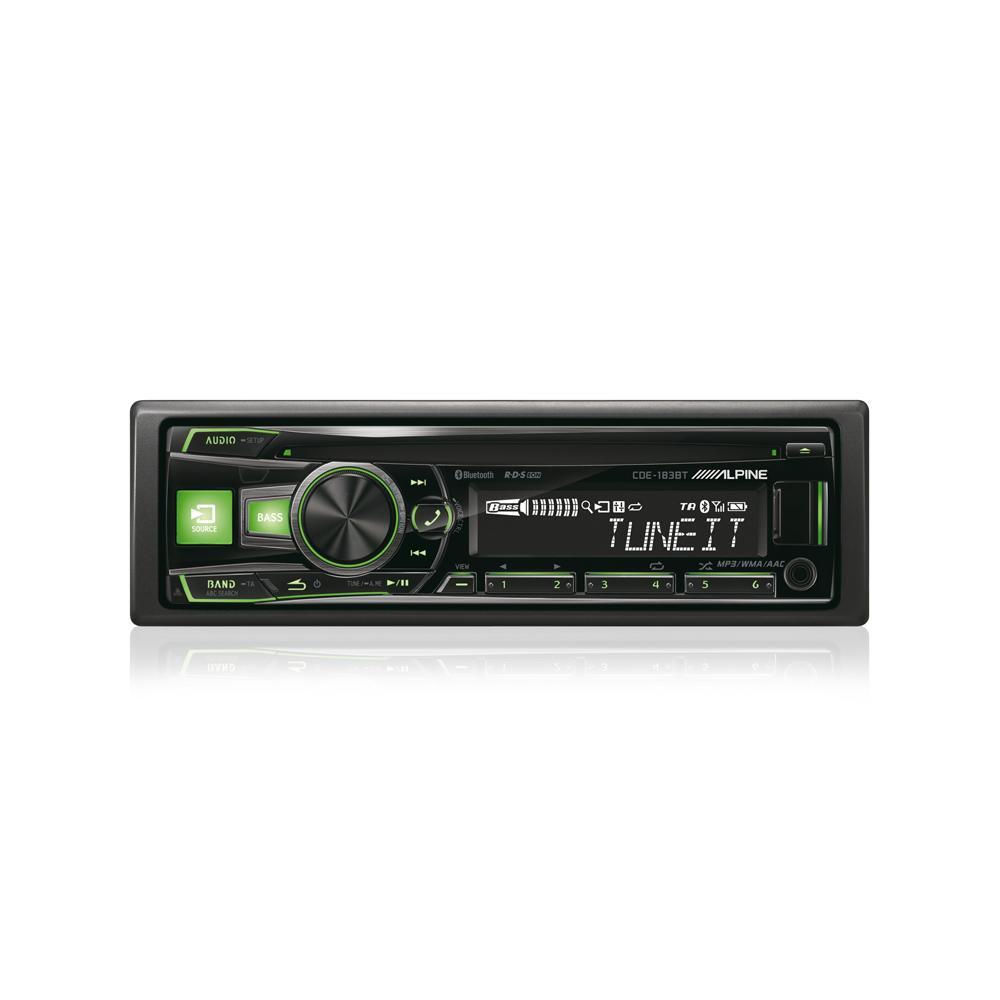 Made for iPod/iPhone Alpine CDE-183BT 3