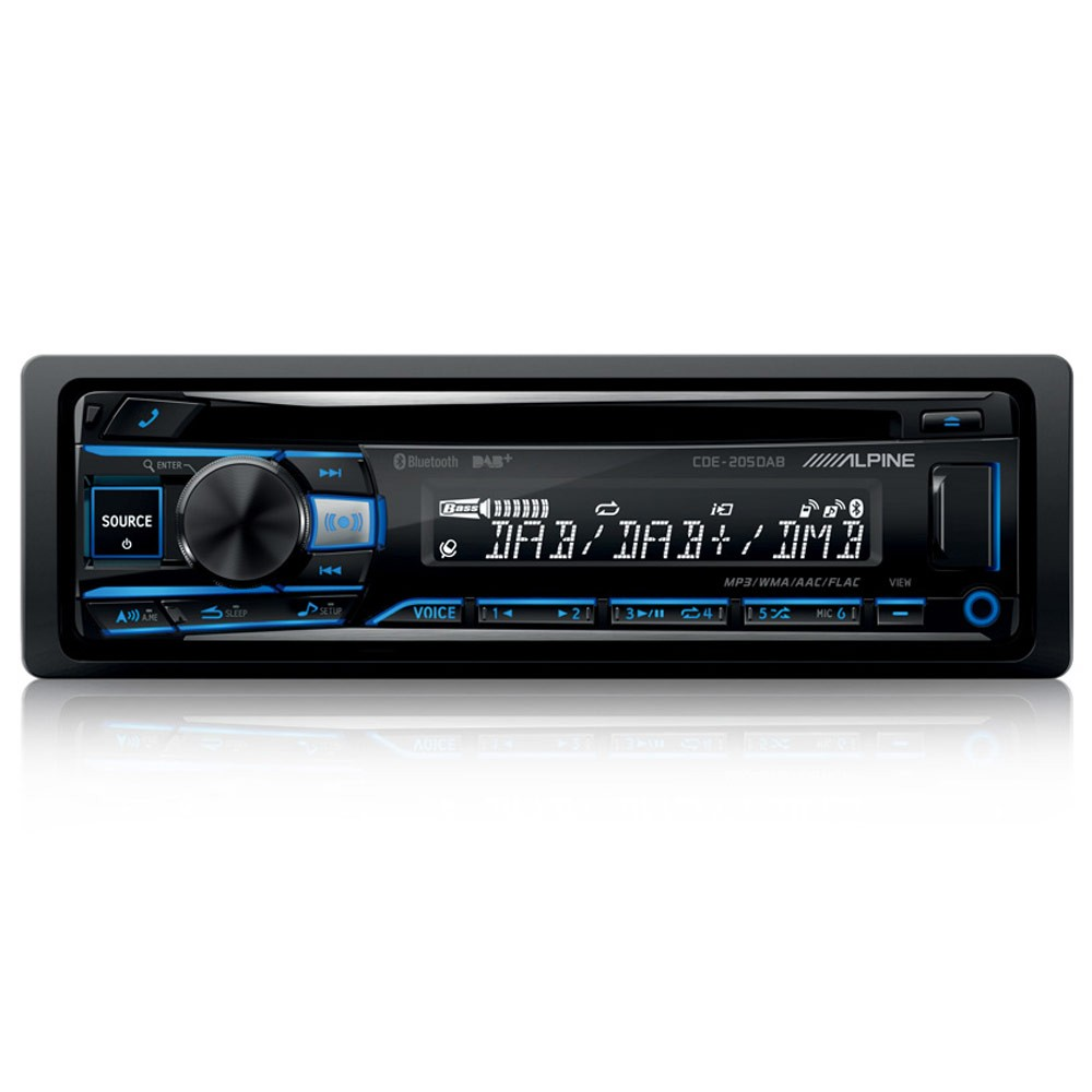CD/MP3 Player Alpine Car Audio Systems CDE-205DAB