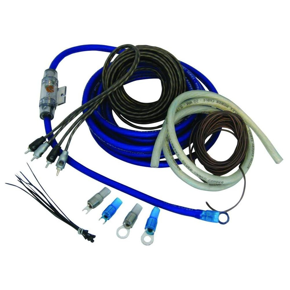 Amplifier and Wiring Kits Necom CKE10