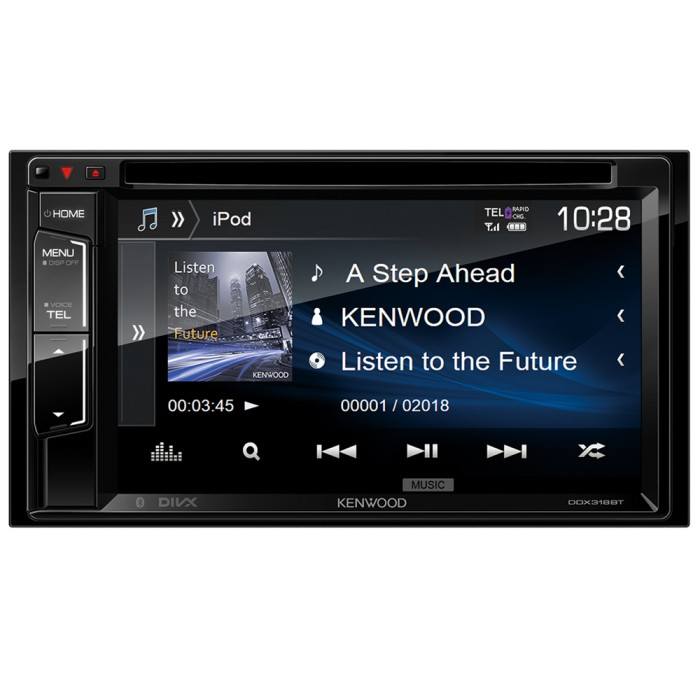 Double Din Screen Kenwood Car Audio DDX-318BT 1