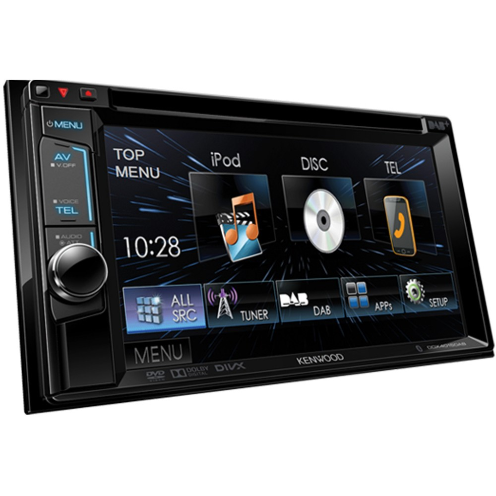 Double din screen Kenwood DDX4015DAB