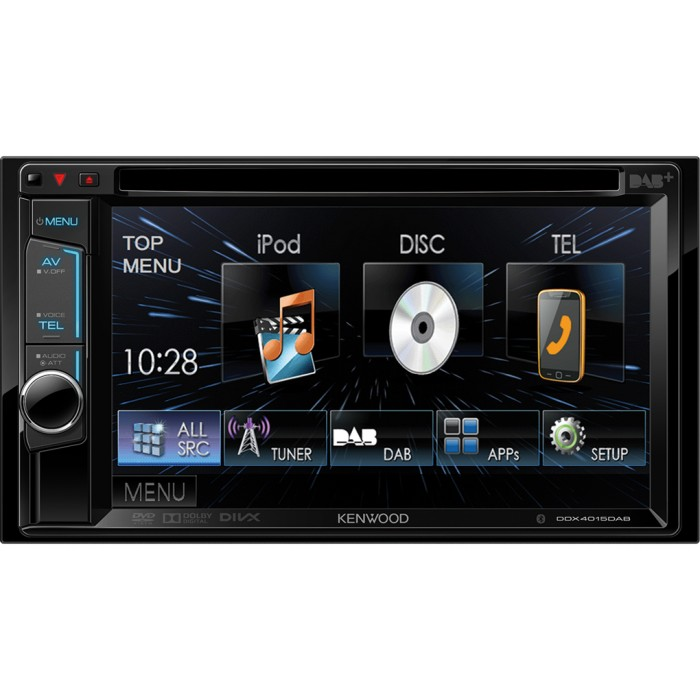 Double din screen Kenwood DDX4015DAB 2