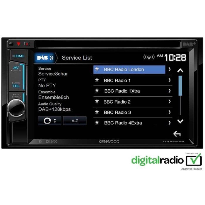 Double din screen Kenwood DDX-4016DAB 1