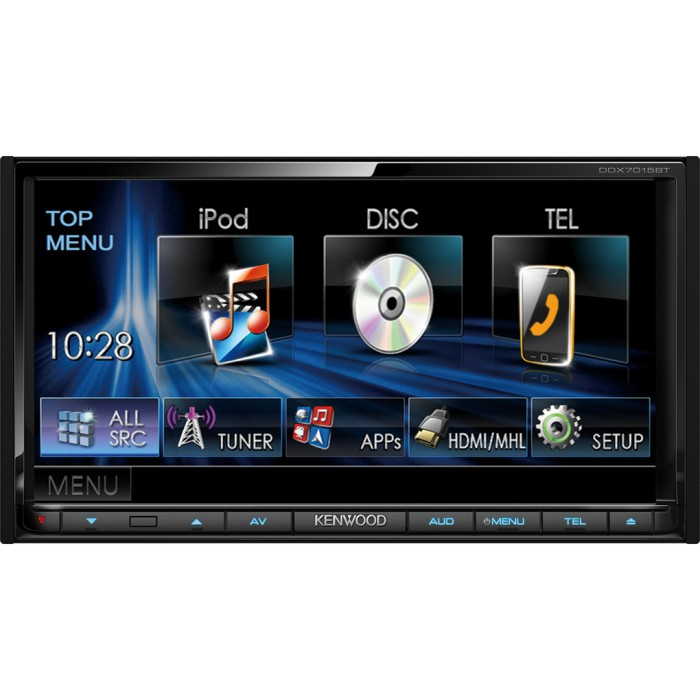 Made for iPod/iPhone Kenwood DDX-7015BT  2