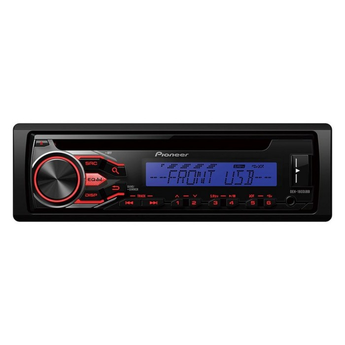 Aux in Pioneer DEH-1800UBB 1