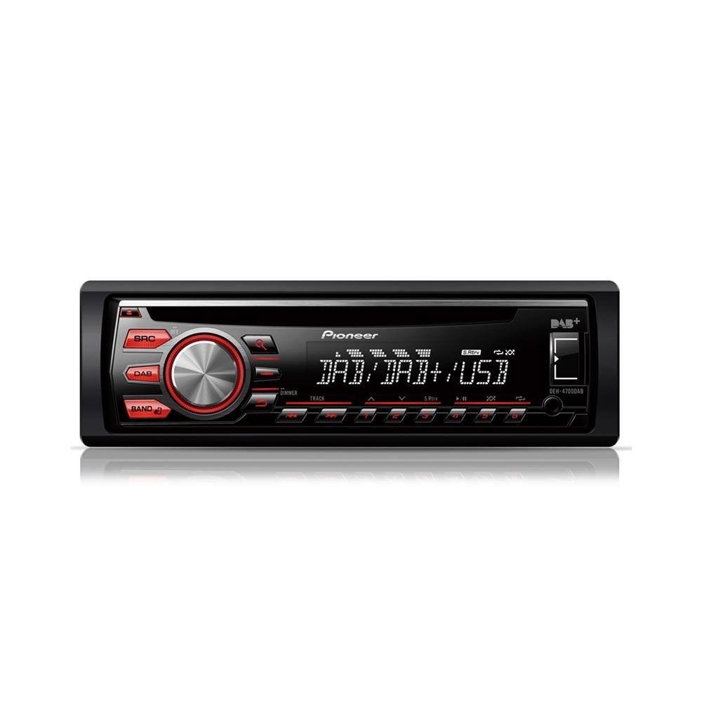 pioneer deh 4700dab digital radio car stereo usb aux input. Black Bedroom Furniture Sets. Home Design Ideas