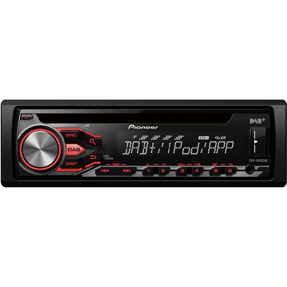 iPhone Compatible Pioneer DEH-4800DAB