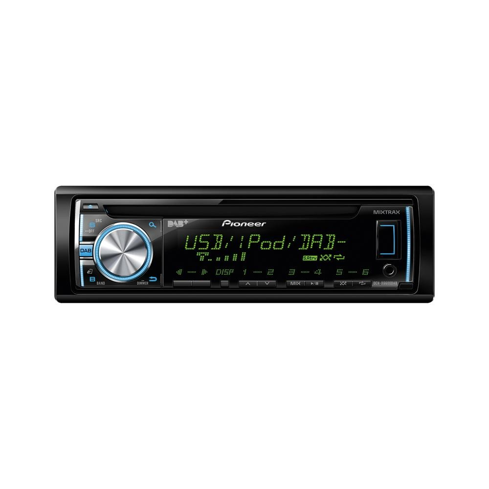 iPhone Compatible Pioneer DEH-X6600DAB