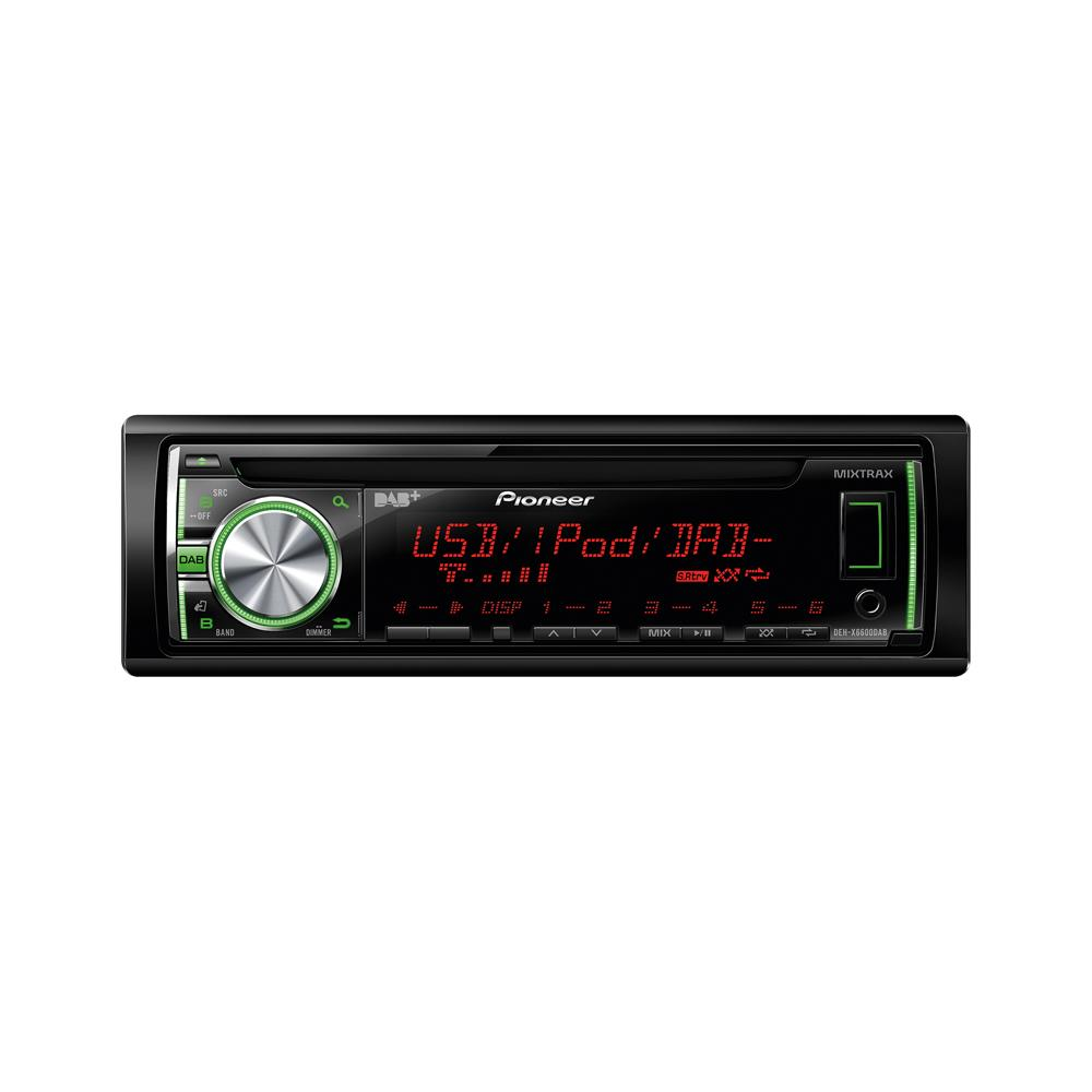 iPhone Compatible Pioneer DEH-X6600DAB 1