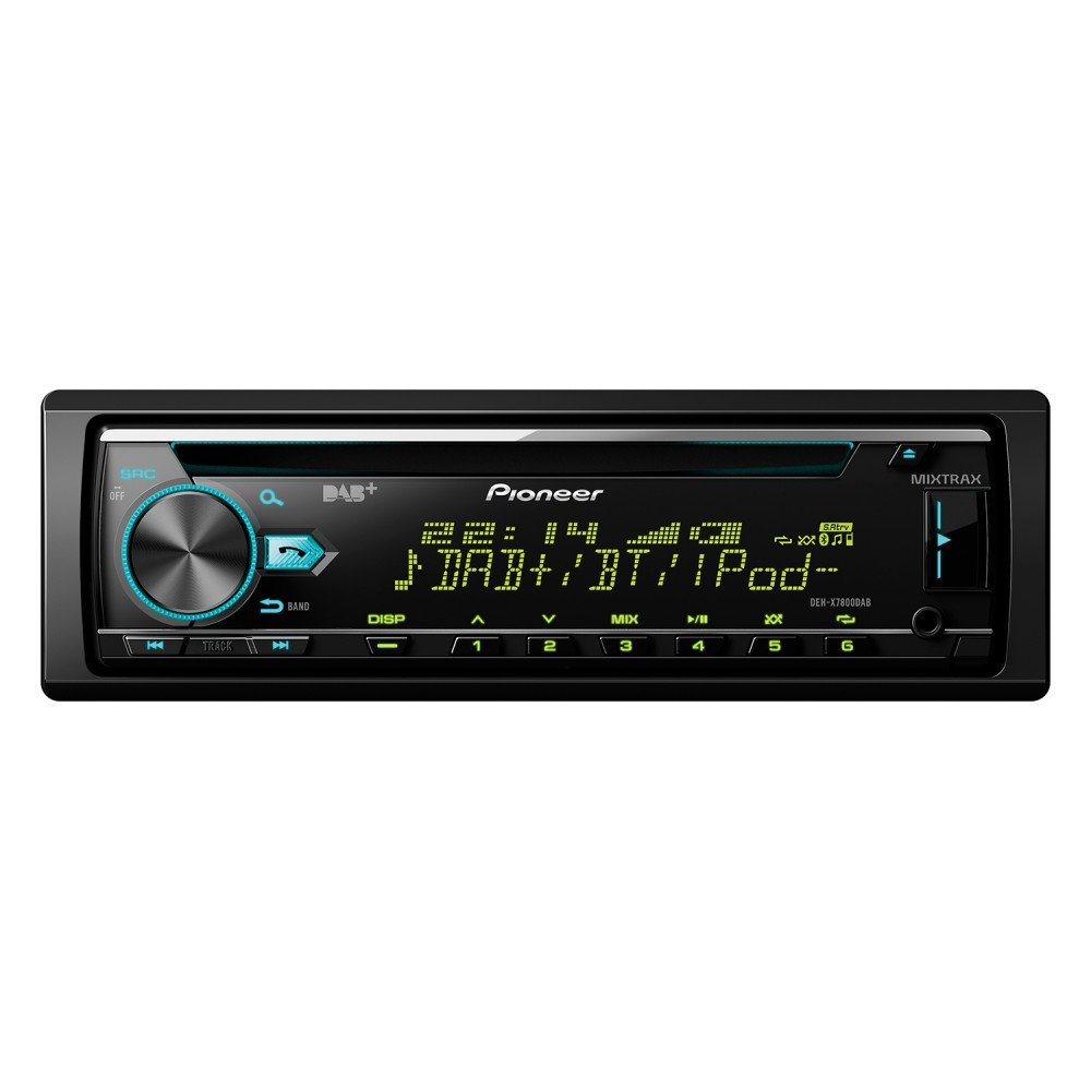 iPhone Compatible Pioneer DEH-X7800DAB