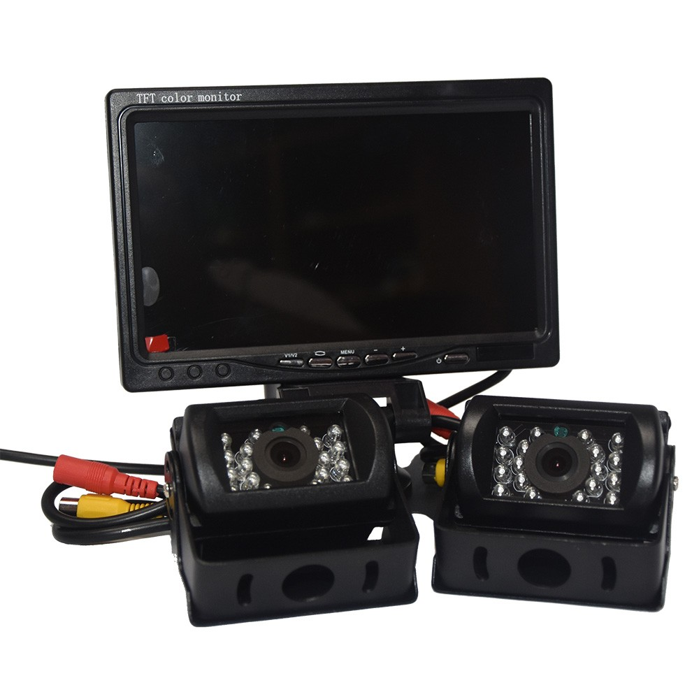 Reversing Cameras In Phase Car Audio DINY612W