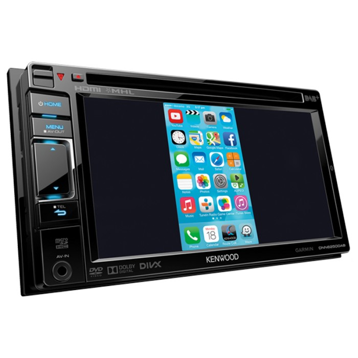 Fixed Sat Nav Kenwood DNN-9250DAB 2