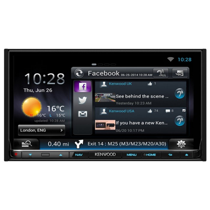 Fixed Sat Nav Kenwood DNN-9250DAB 3