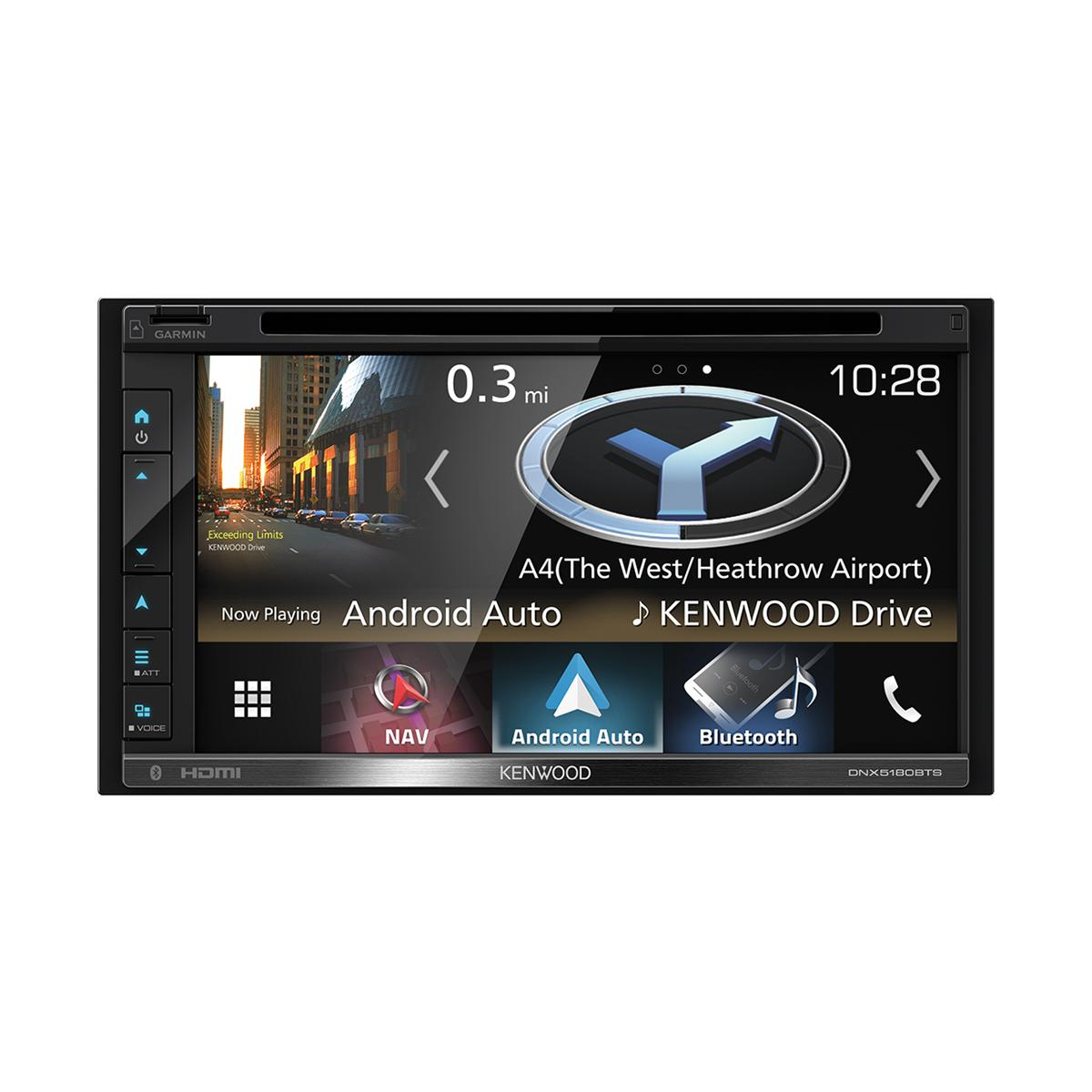 In Car Sat Nav Kenwood Car Audio DNX-5180BTS