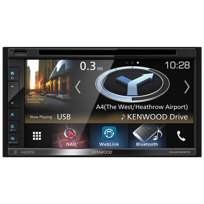 In Car Sat Nav Kenwood Car Audio DNX-5180BTS 2