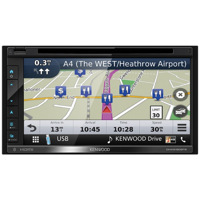 In Car Sat Nav Kenwood Car Audio DNX-5180BTS 3