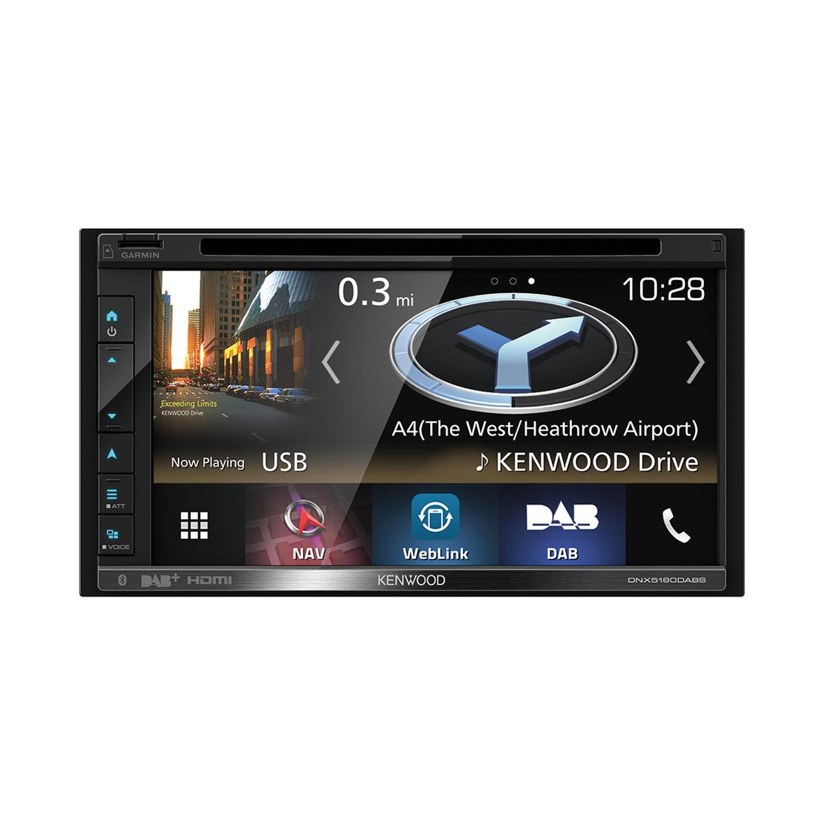 In Car Sat Nav Kenwood DNX5180DABS 2