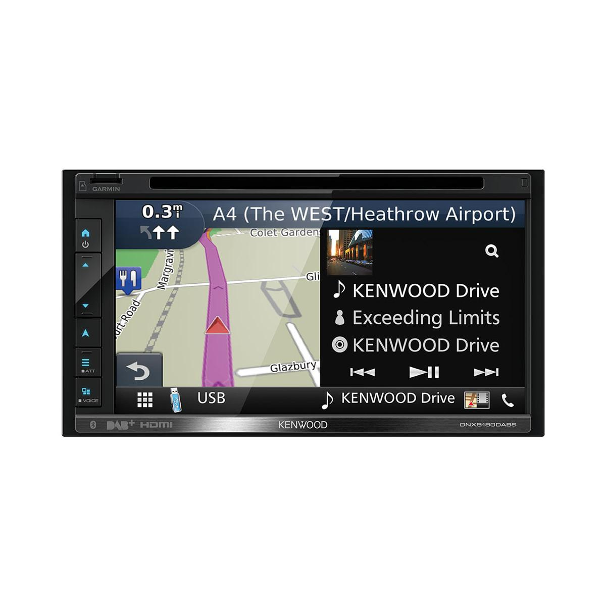 In Car Sat Nav Kenwood DNX5180DABS 3