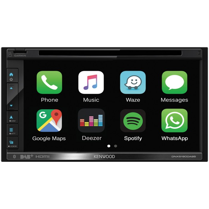 In Car Sat Nav Kenwood Car Audio DNX5190DABS 2