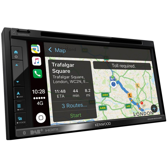 In Car Sat Nav Kenwood Car Audio DNX5190DABS 1