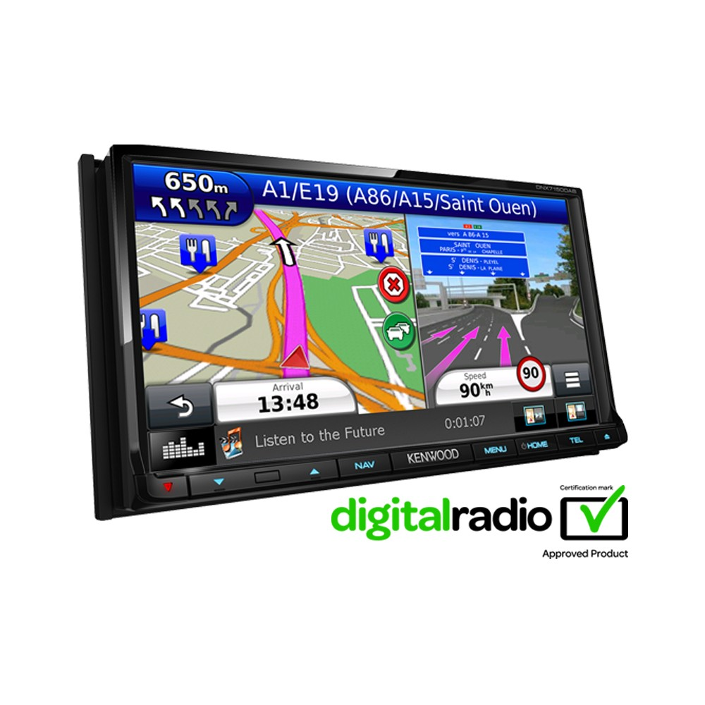 In Car Sat Nav Kenwood DNX-7150DAB