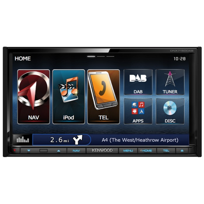 In Car Sat Nav Kenwood DNX-7150DAB 1