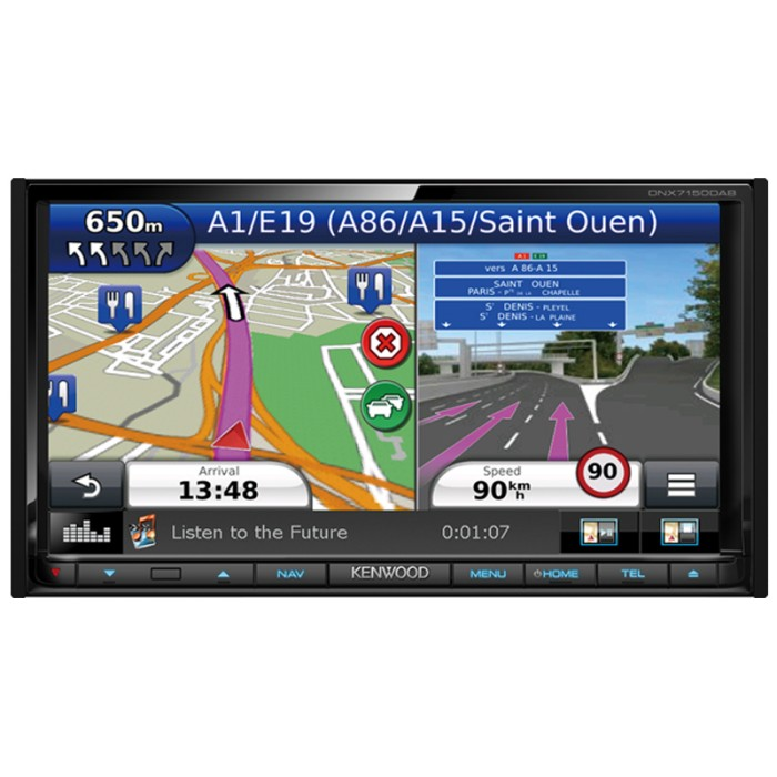 In Car Sat Nav Kenwood DNX-7150DAB 2