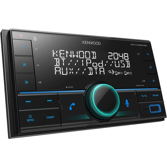 KENWOOD DPX-M3100BT MECHLESS BLUETOOTH MP3 USB IPHONE ANDROID CHEAP CAR STEREO