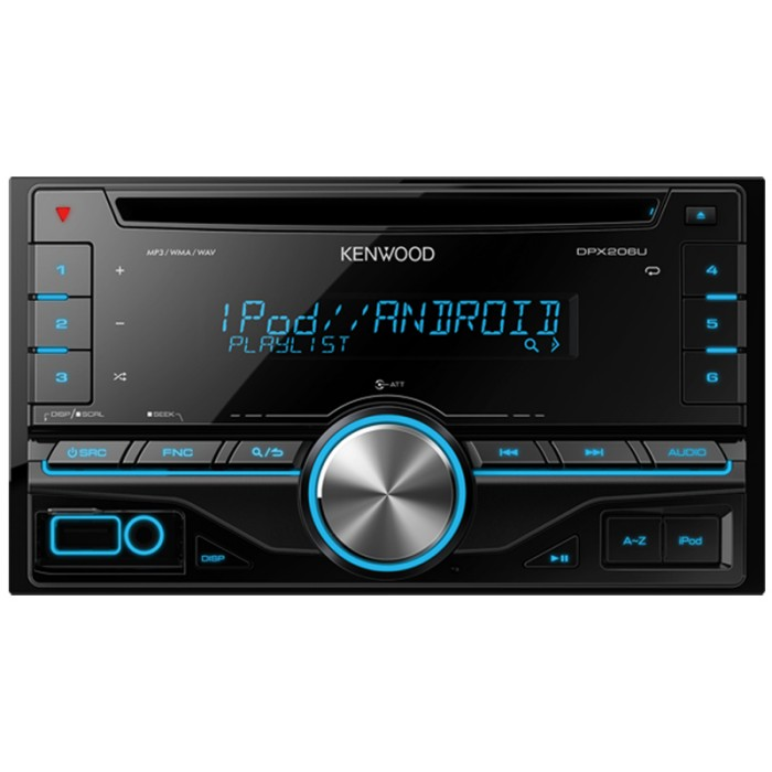 USB Kenwood DPX206U 1