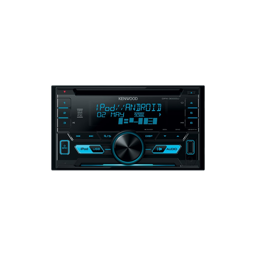 Double Din Kenwood DPX3000U