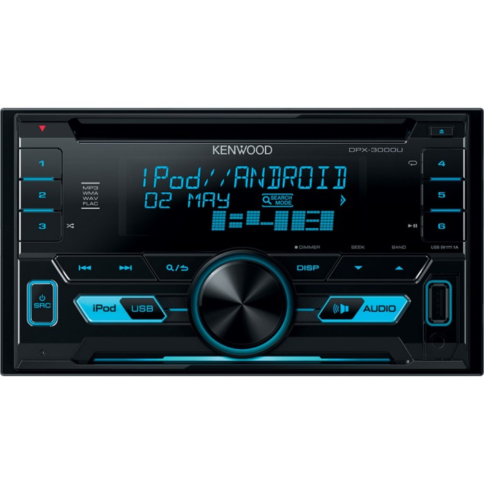 Double Din Kenwood DPX3000U 1