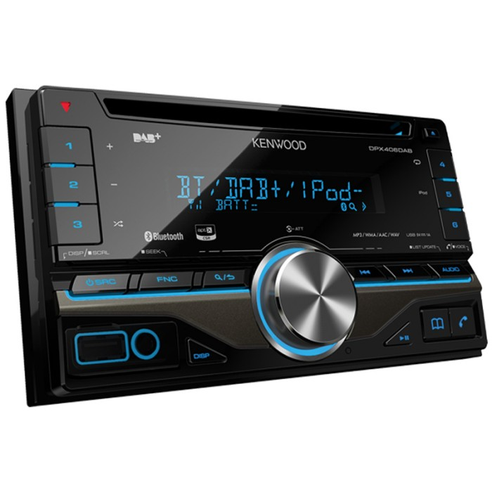 CD/MP3 Player Kenwood DPX-406DAB 1