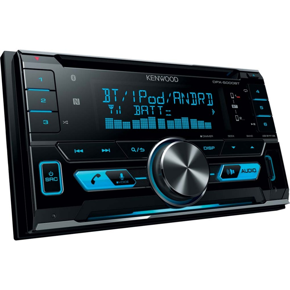 Aux in Kenwood DPX-5000BT
