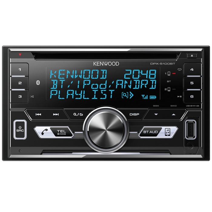 Double Din Screen Kenwood Car Audio DPX-5100BT 1