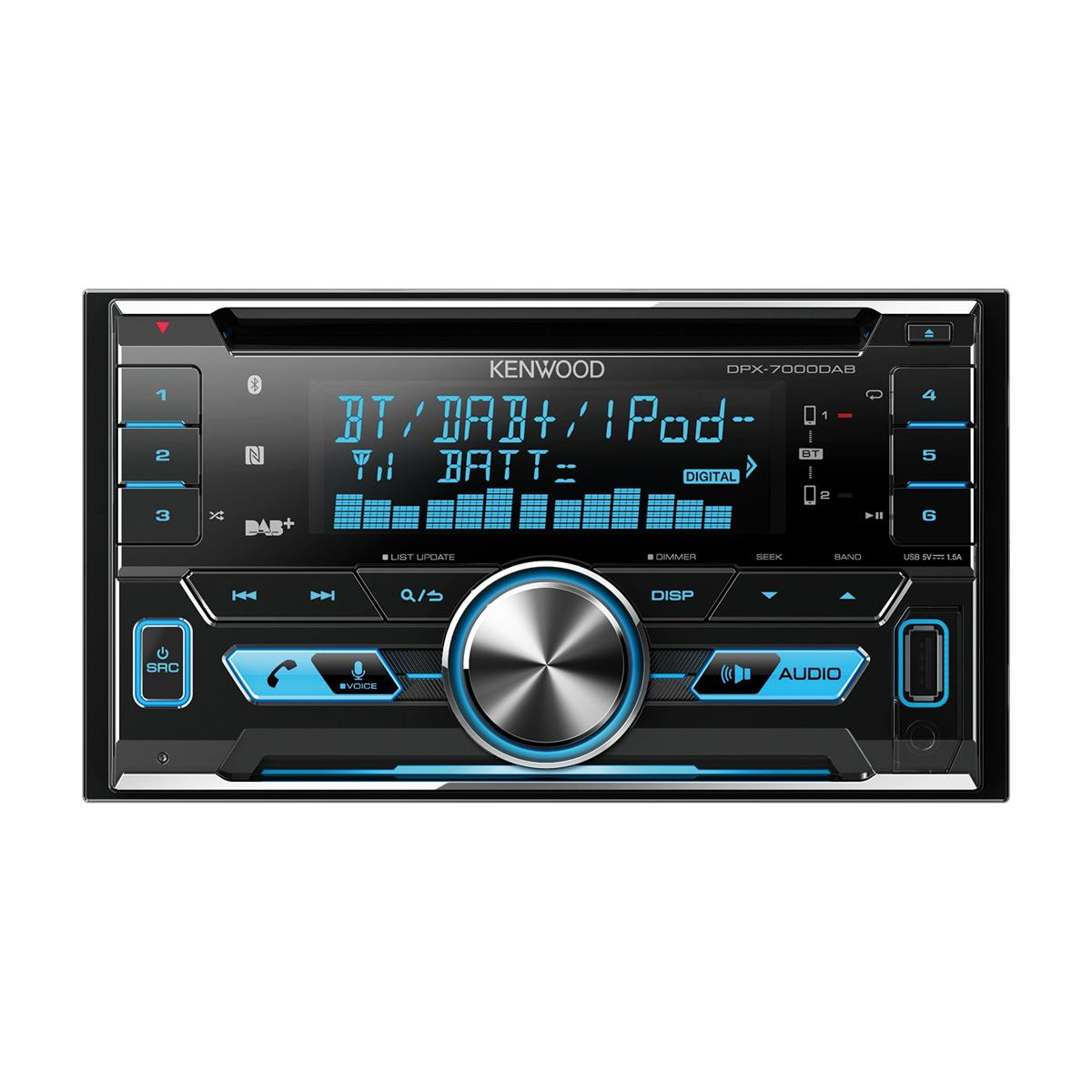 CD/MP3 Player Kenwood DPX-7000DAB 1