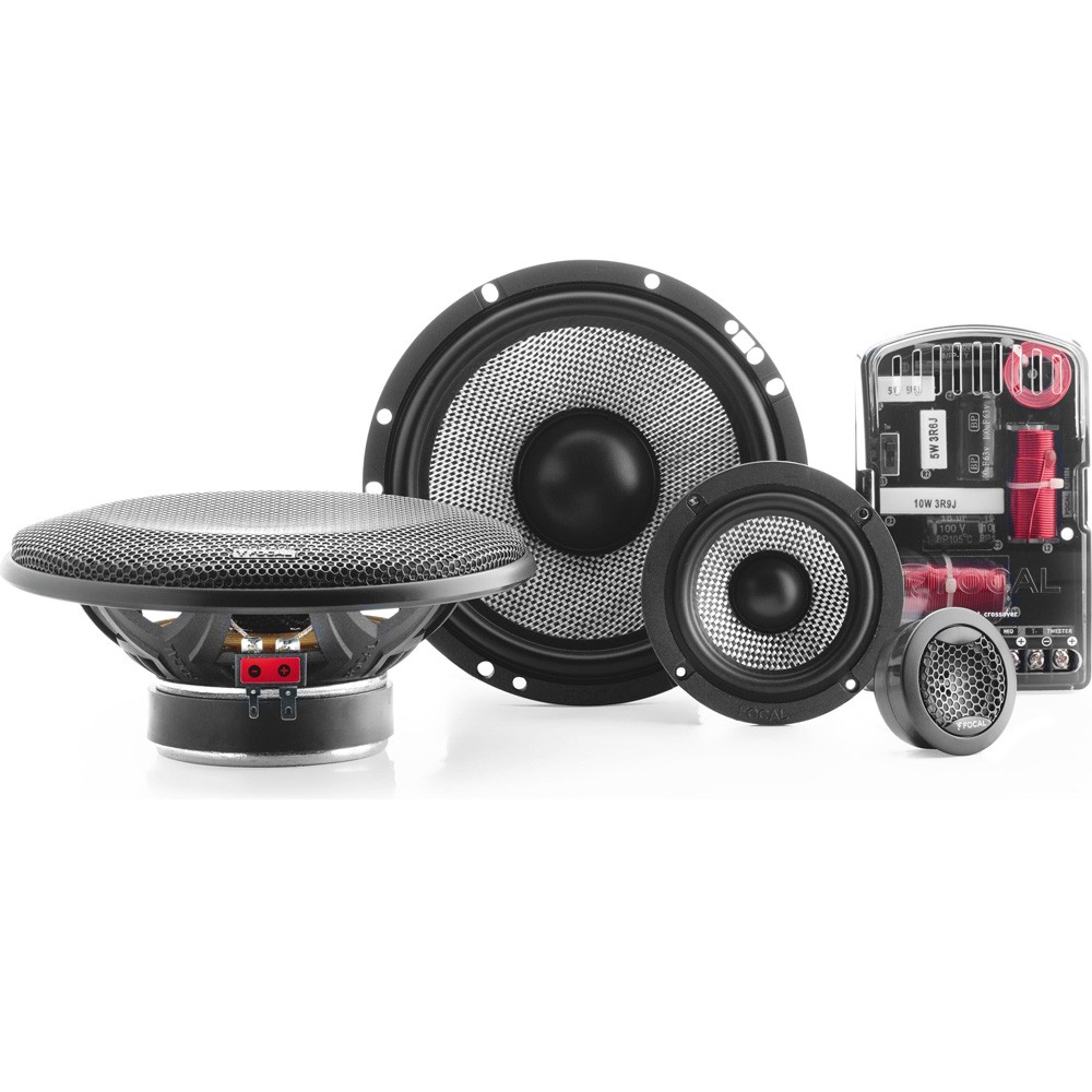 Focal Car Audio 165AS3 ACCESS 165mm/6 5 3-Way System Kit