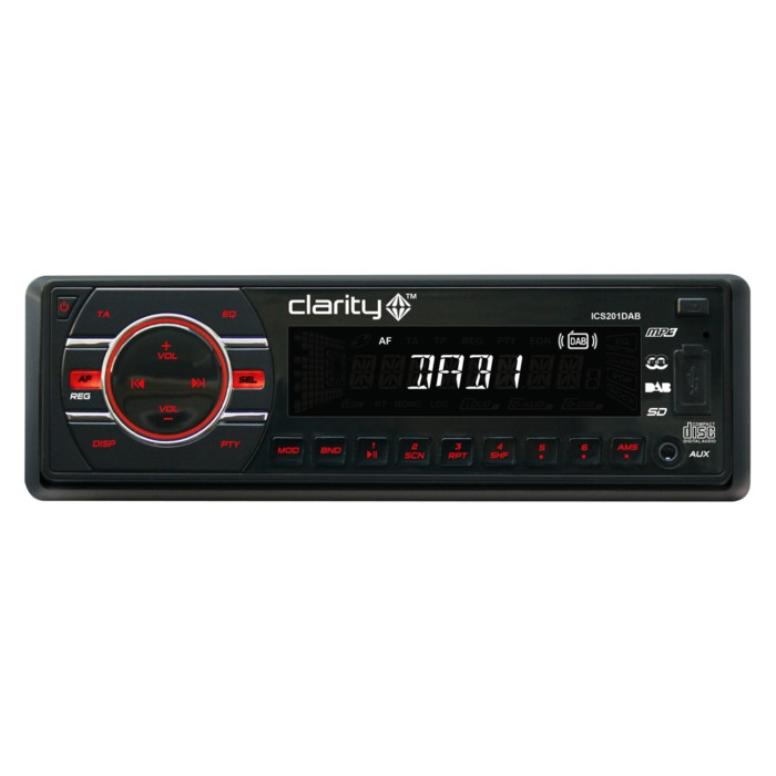 CD/MP3 Player Clarity  ICS201DAB