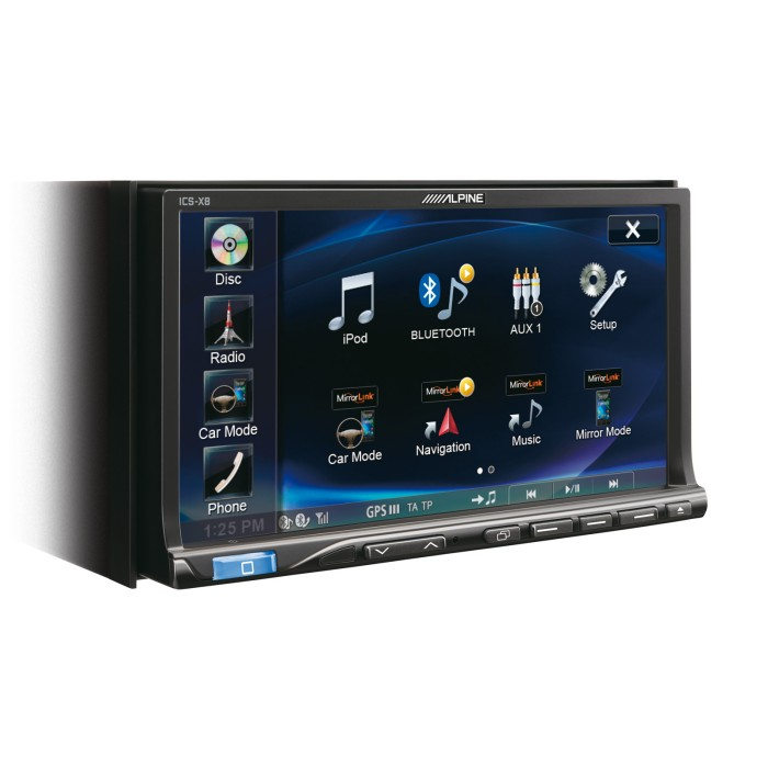 Double din screen Alpine ICS-X8 1