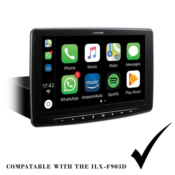 In Car Sat Nav Alpine Car Audio Systems iLX-F903D 1