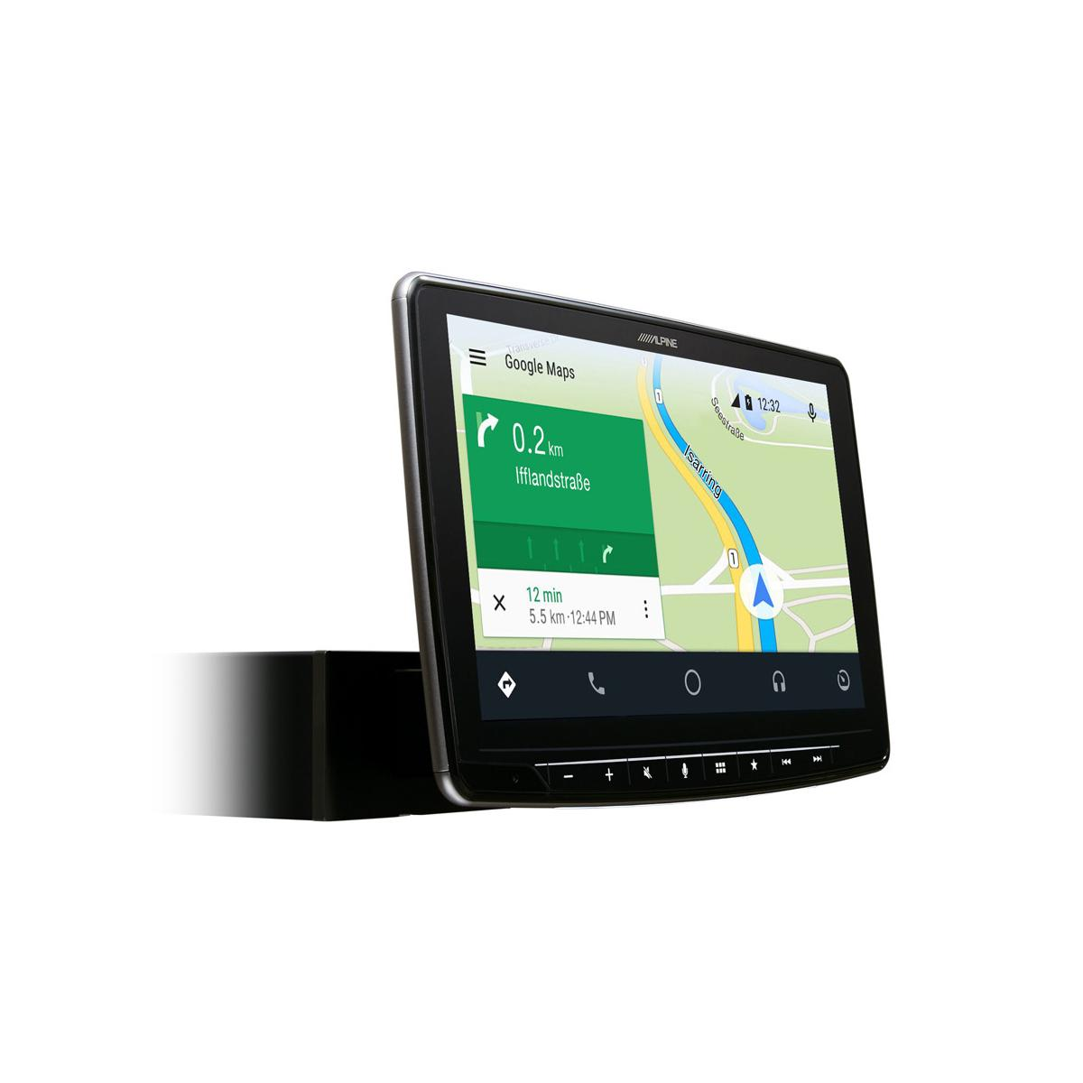 In Car Sat Nav Alpine Car Audio Systems iLX-F903D 3