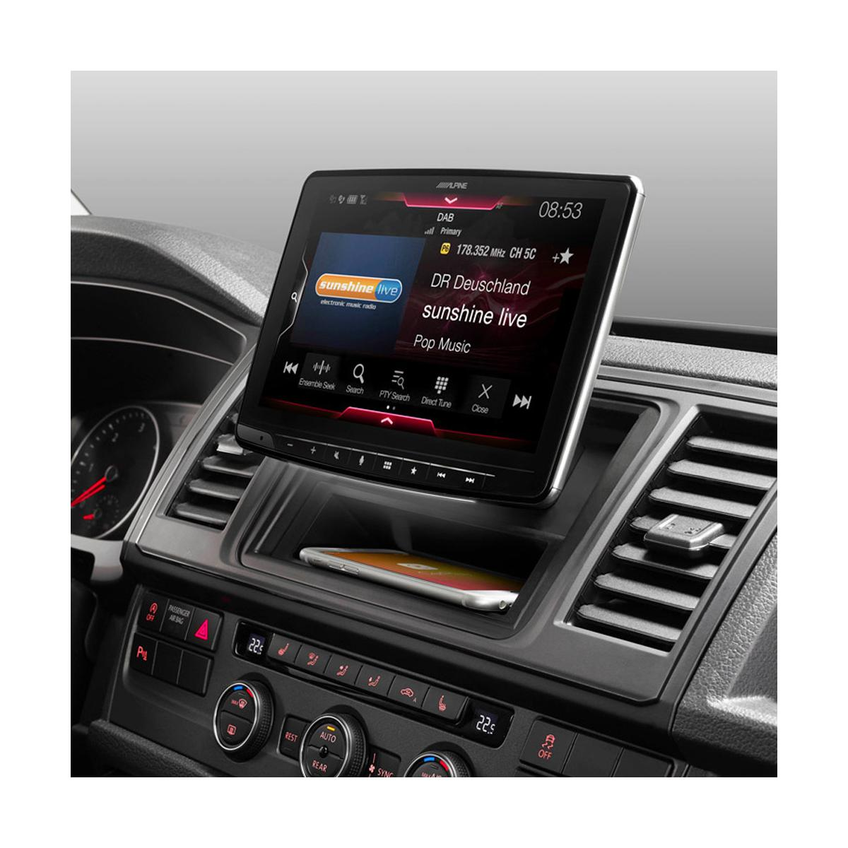 In Car Sat Nav Alpine Car Audio Systems iLX-F903D 4