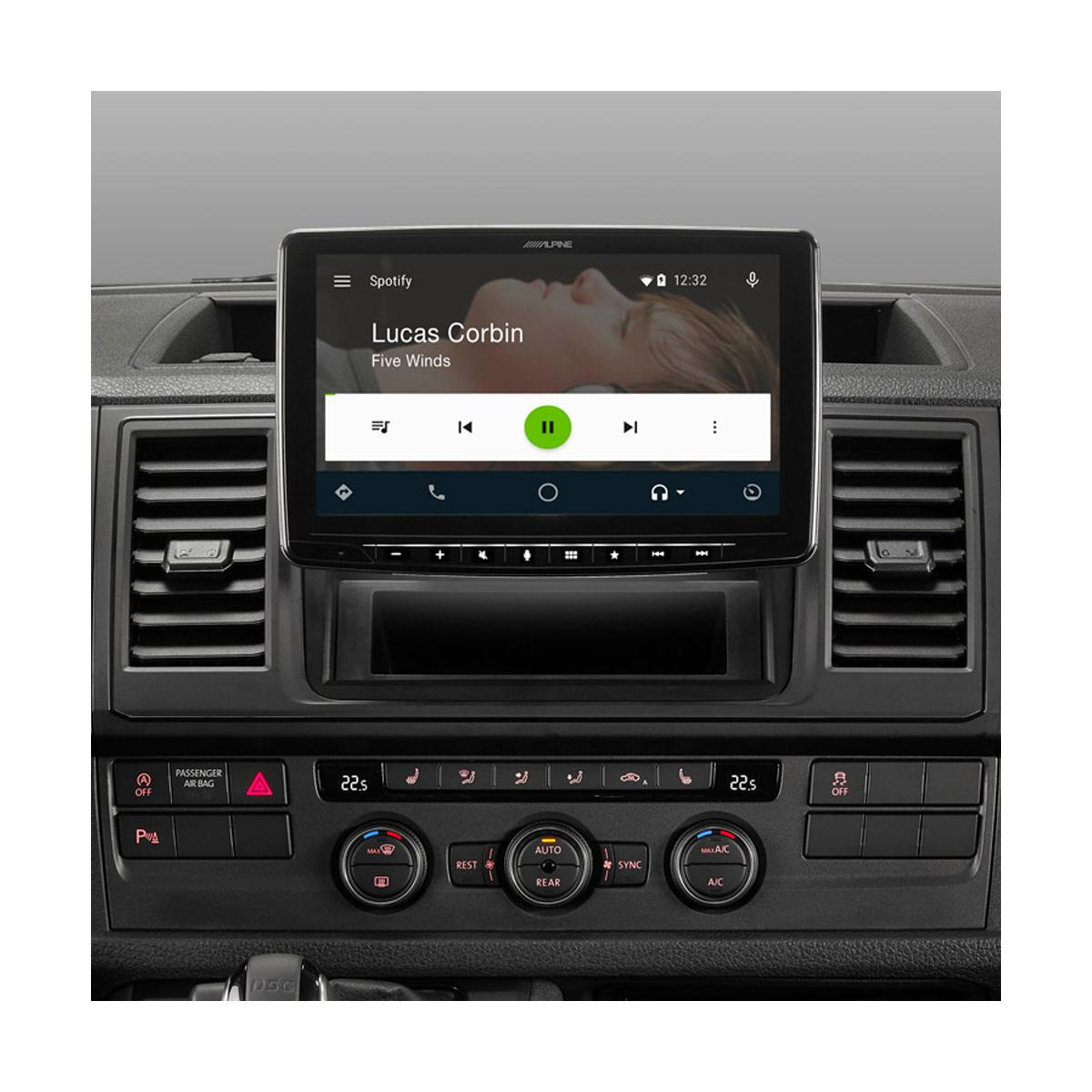 In Car Sat Nav Alpine Car Audio Systems iLX-F903D 5