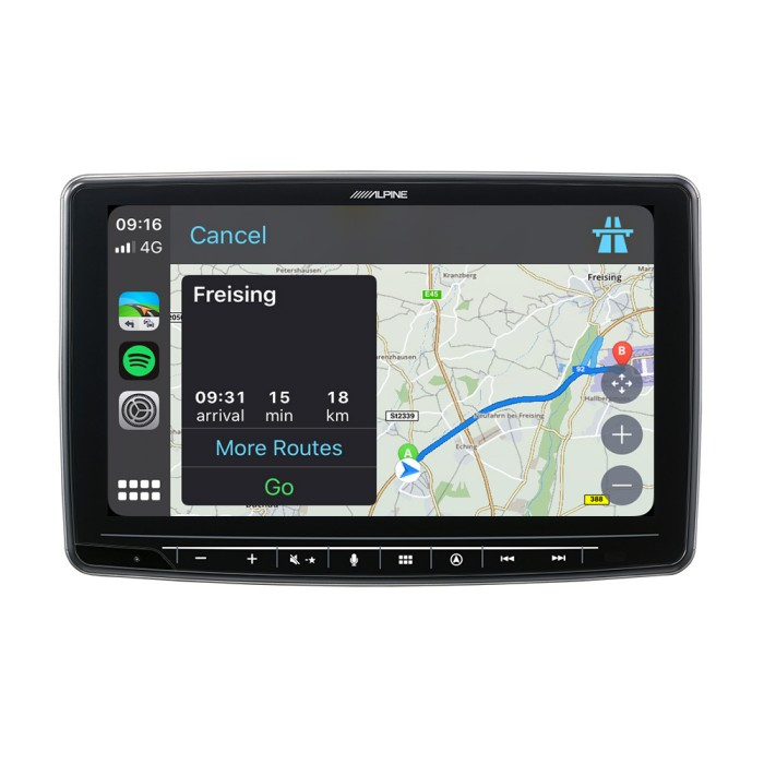 In Car Sat Nav Alpine Car Audio Systems INE-F904D 1