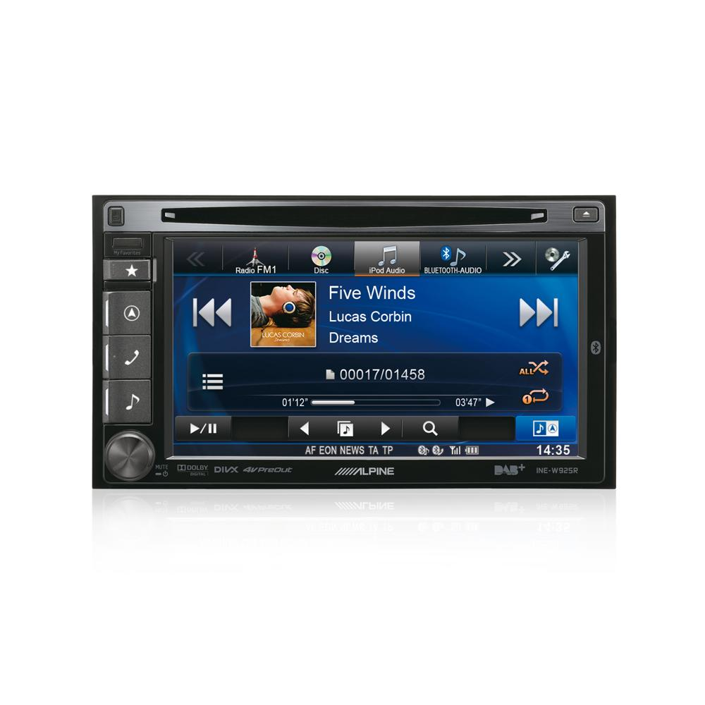 alpine ine w925r dab navigation double din car stereo system. Black Bedroom Furniture Sets. Home Design Ideas