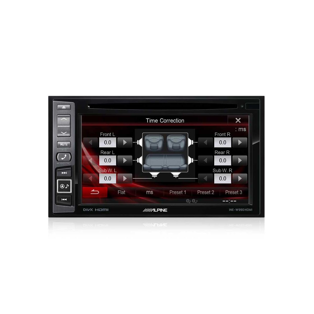 Double Din Screen Alpine Car Audio Systems INE-W990HDMI + FV006 2