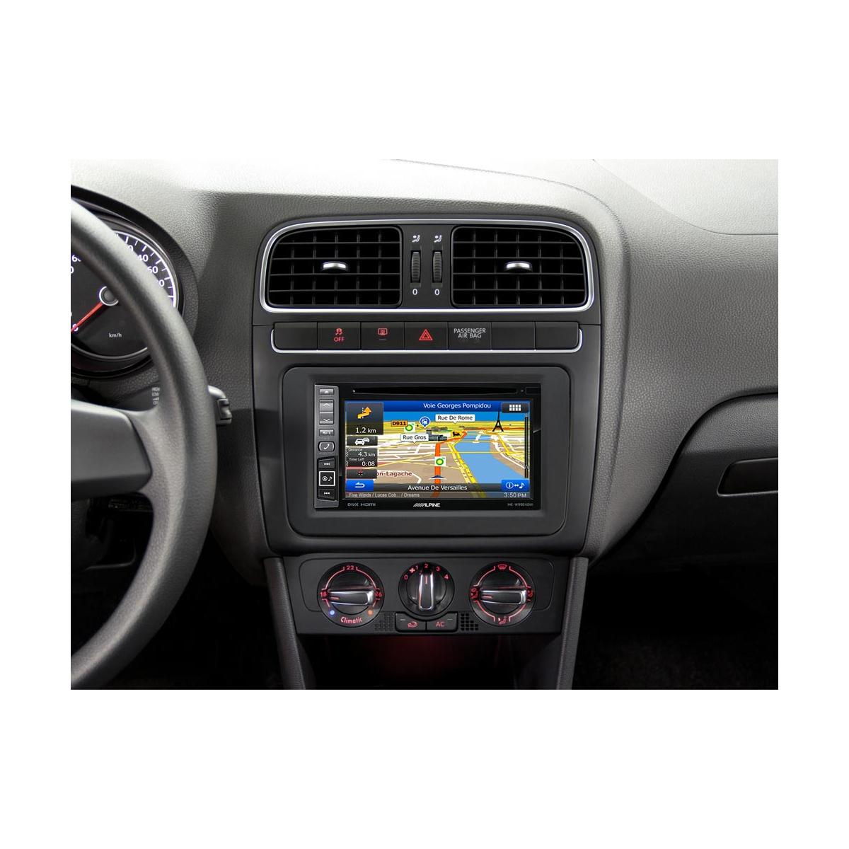 alpine ine w990hdmi double din navigation head unit with bluetooth. Black Bedroom Furniture Sets. Home Design Ideas