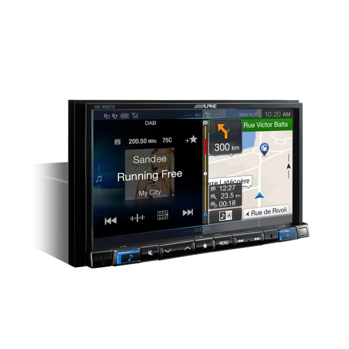 Fixed Sat Nav Alpine INE-W997D 1